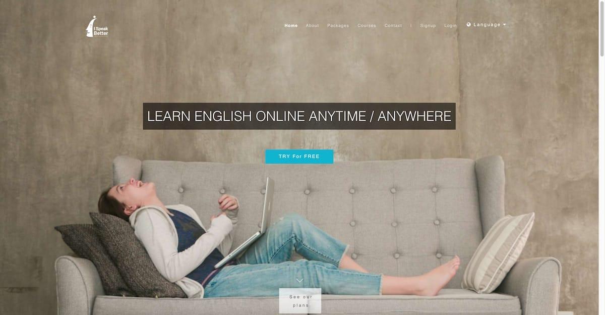 www.ispeakbetter.com website